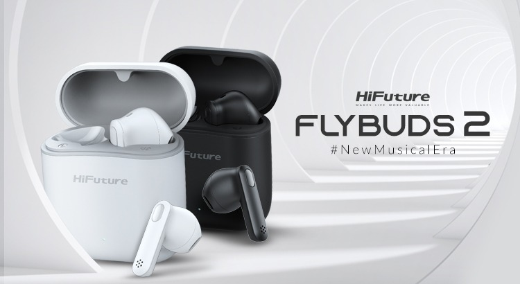 Bring Home A Complete Package Of Immersive Sound, Inspiring Style And Unbeatable Charm. Dive Into The Beats And Feel The Music With HiFuture FlyBuds2.